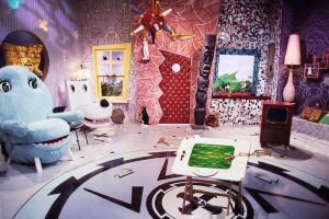 backgrounds zoom pee wee messy background playhouse virtual calls herman rooms conference screen magic remote filters