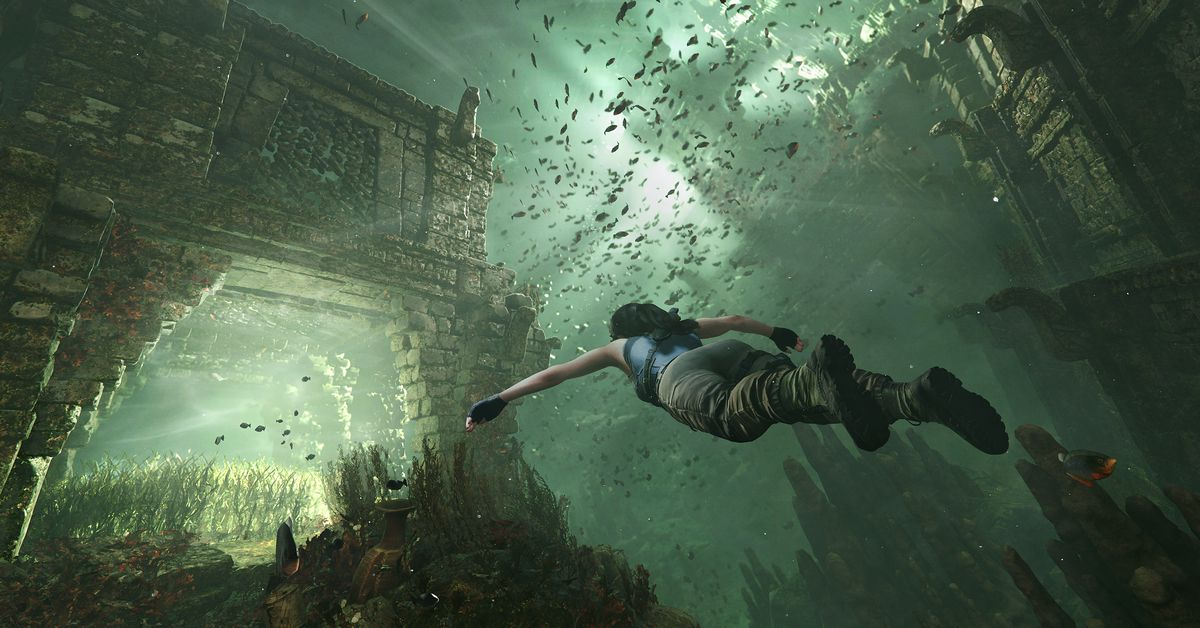 Maneater and the latest Tomb Raider highlight January's free PS Plus games