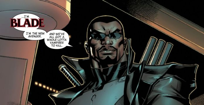 Blade in Avengers #12, Marvel Comics (2019).