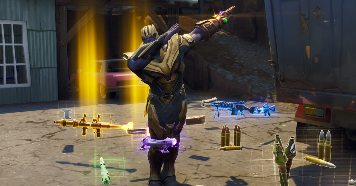 Thanos Is The Best Thing In Fortnite Right Now Polygon