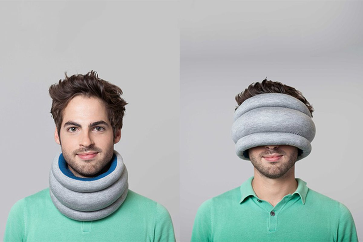 New Ostrich Pillow offers a slightly less embarrassing way
