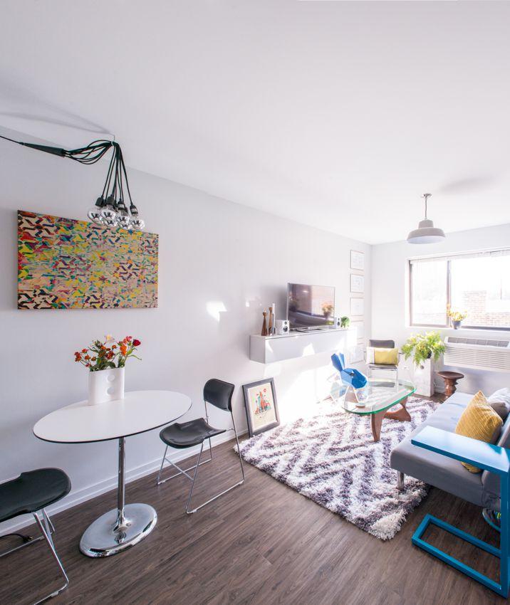Decorating Ideas Apartment Square 500 Foot