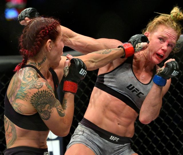 Cyborg Holly Holm Fighting Megan Anderson To Improve Terrible Record Work Toward Rematch