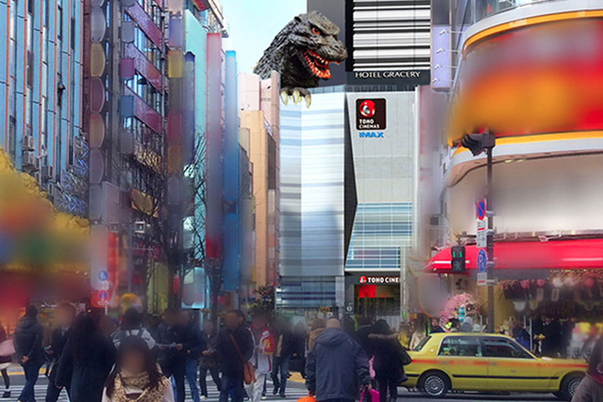 Take A Look At The Inside And Outside Of Japans Godzilla