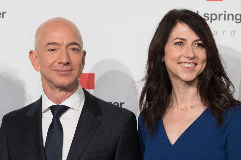 Mackenzie Scott and her ex-husband Jeff Bezos