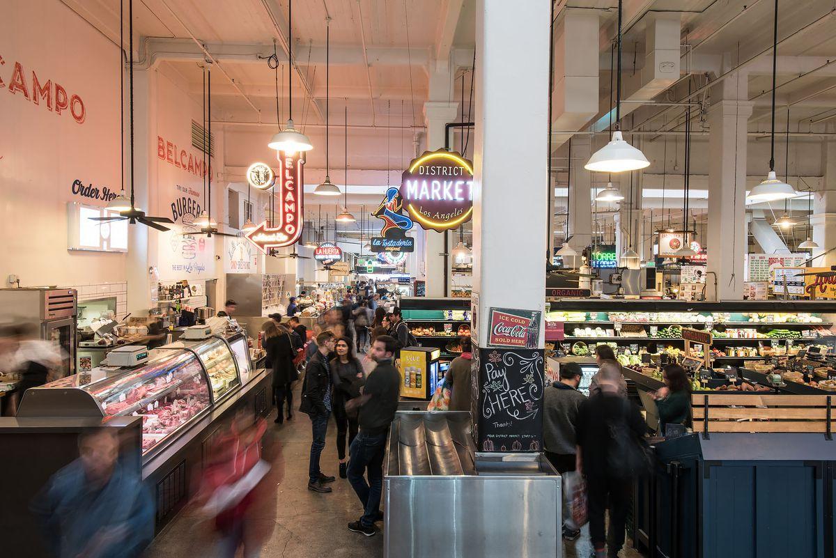 Image result for grand central market friday night flights