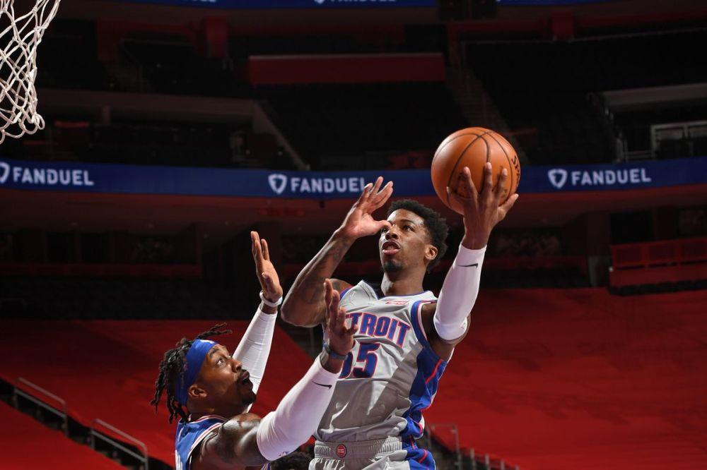 Detroit Pistons vs. Philadelphia 76ers final score: Delon Wright and Wayne  Ellington really just dominated the Sixers - Detroit Bad Boys