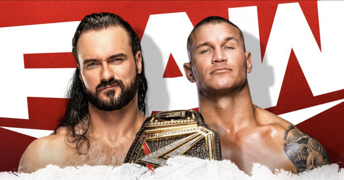 WWE Raw results, live blog (Jan. 11, 2021): McIntyre vs. Orton