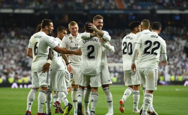 Player Ratings Real Madrid 2 0 Getafe 2018 La Liga