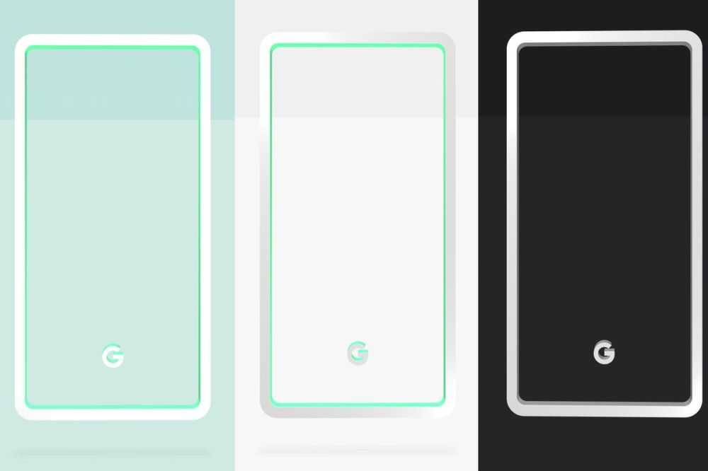 medium resolution of google reveals pixel 3 colors mint white and black