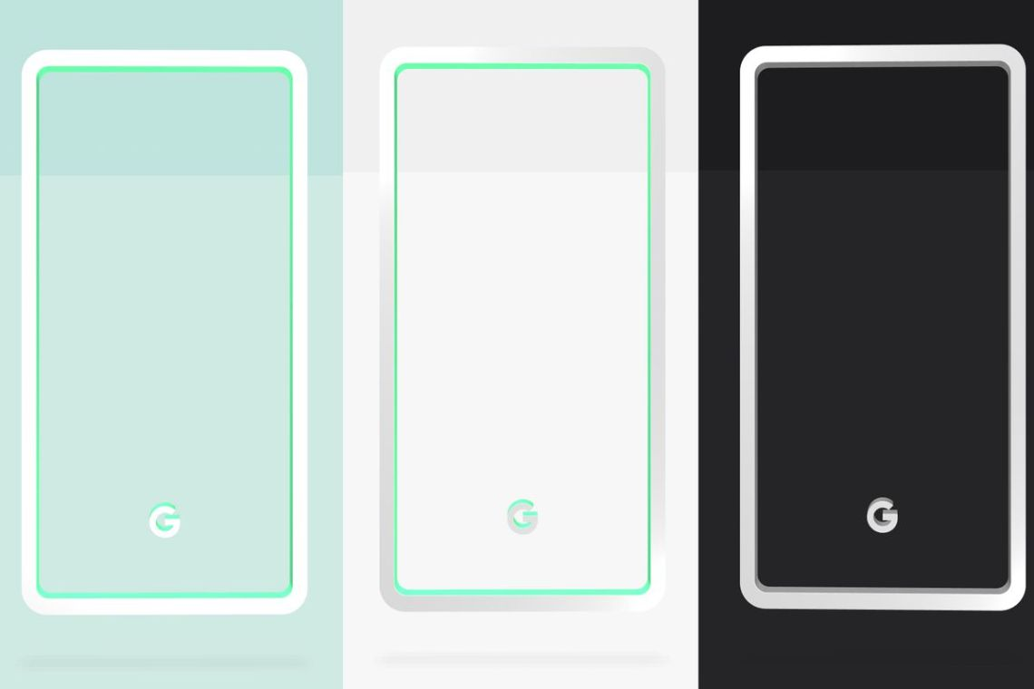 Google Reveals Pixel  Colors Mint White And Black