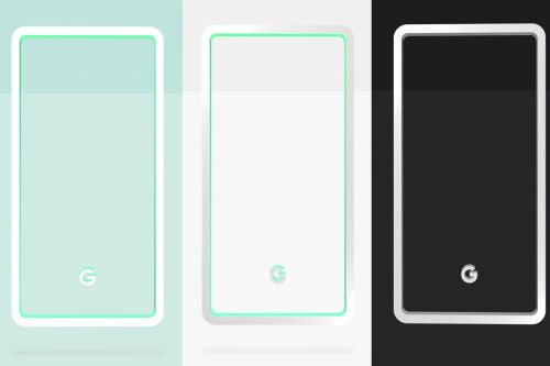 small resolution of google reveals pixel 3 colors mint white and black