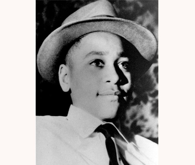 This undated photo shows Emmett Louis Till, a 14-year-old black Chicago boy, who was kidnapped, tortured and murdered in 1955 after he allegedly whistled at a white woman in Mississippi.