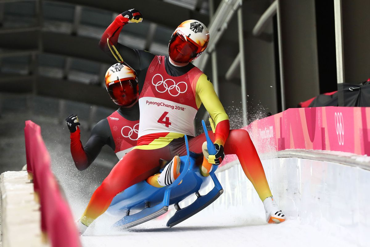 Doubles Luge Is Absolutely The Dumbest Looking Sport