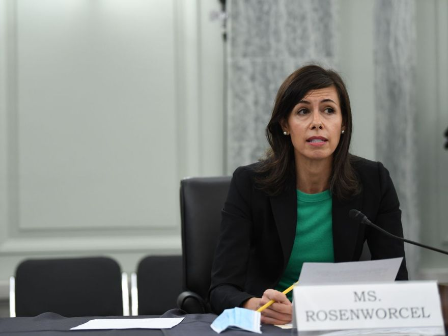 FCC acting Chair Jessica Rosenworcel.