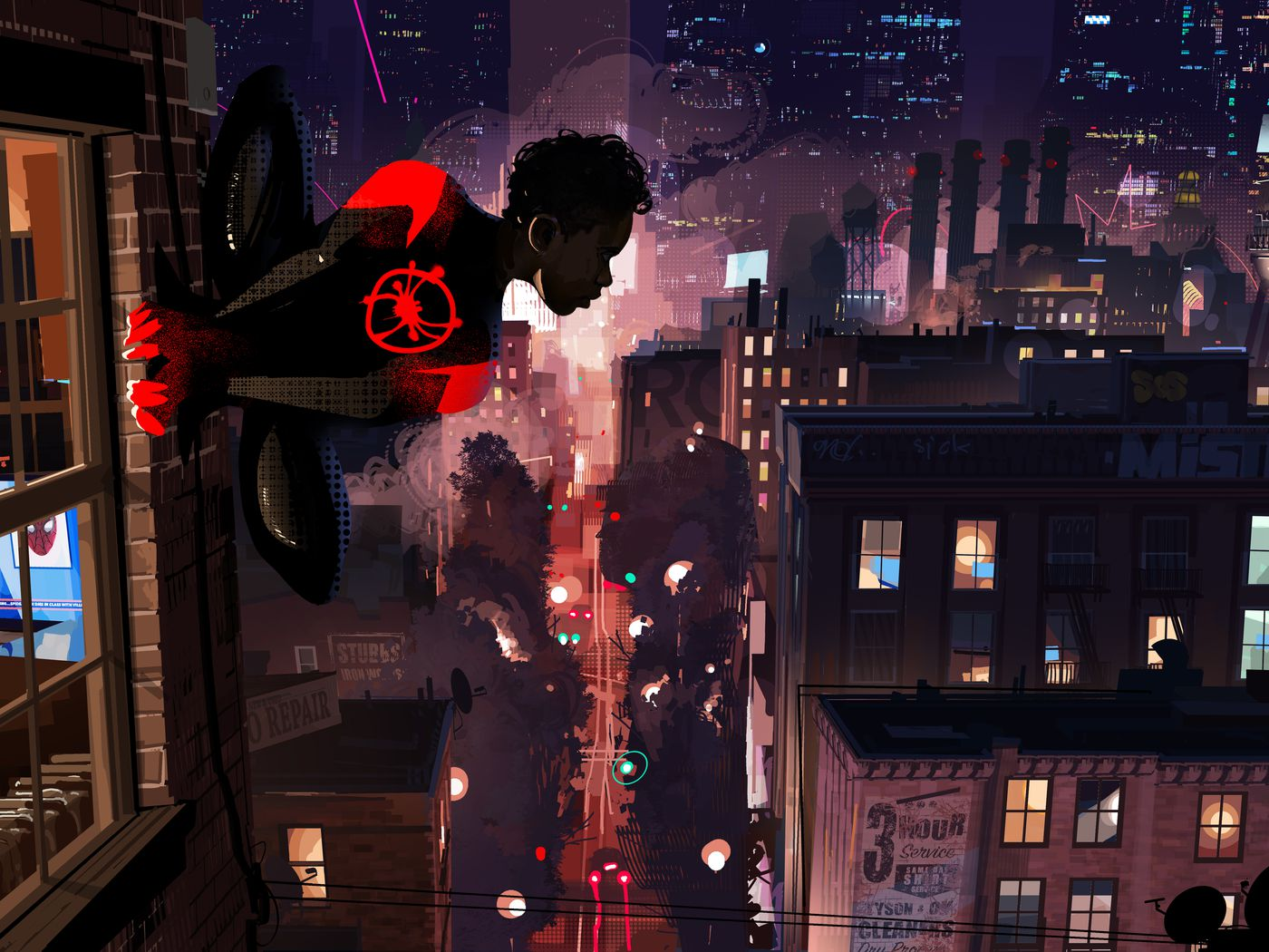 Spider Man Into The Spider Verse S Art Style We Go Behind The Scenes Polygon