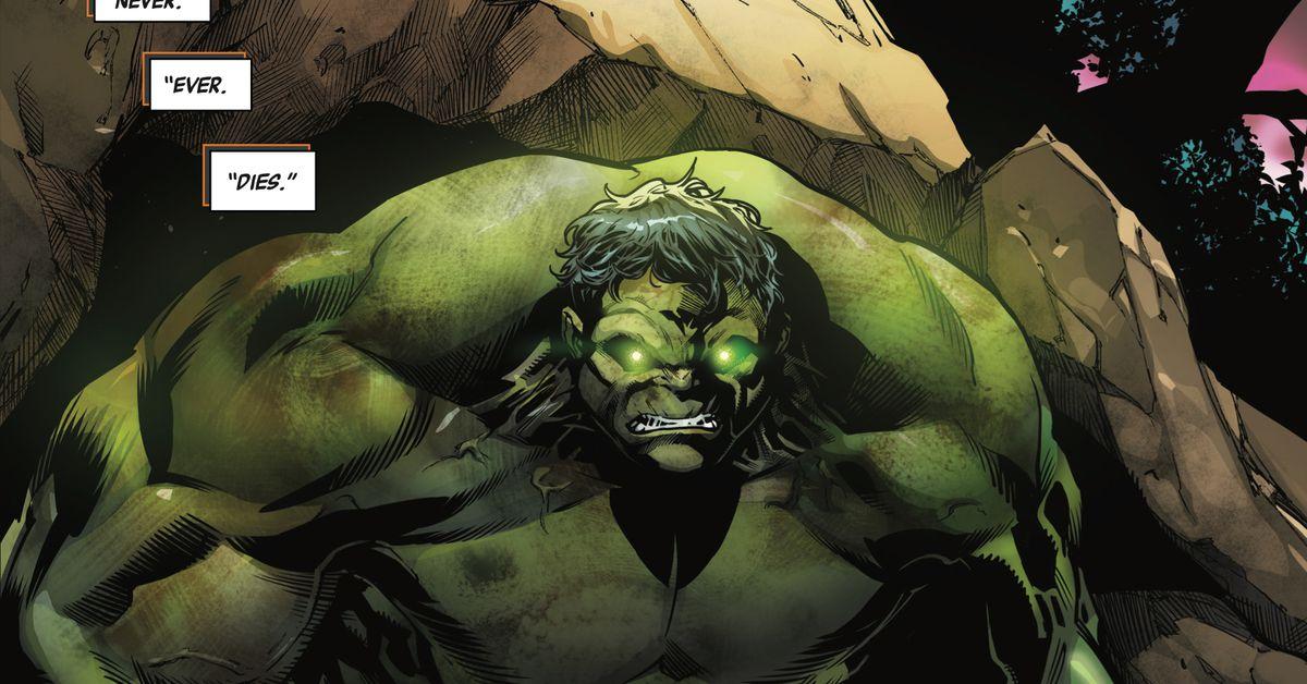 Vengeance Quotes Wallpapers Immortal Hulk 1 Brings The Hulk Back To Marvel Comics