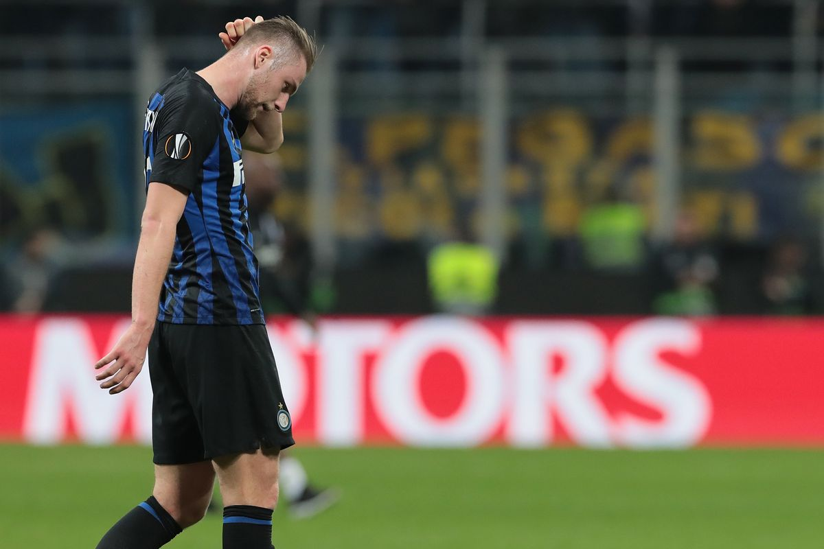 Inter Milan Out Of Europa League After   Defeat