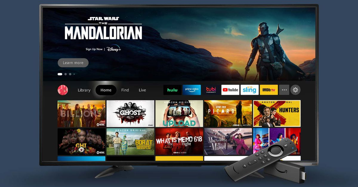 Amazon's redesigned Fire TV software starts rolling out today