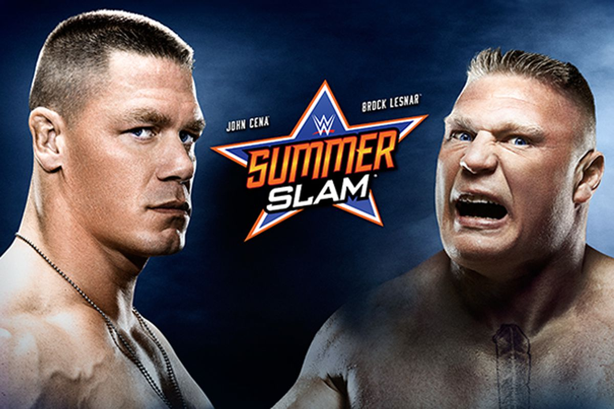 wwe summerslam 2014 match