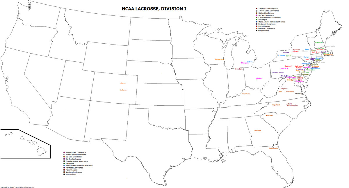 What Utah Reportedly Adding D1 Lacrosse Means Part 1 (H/T