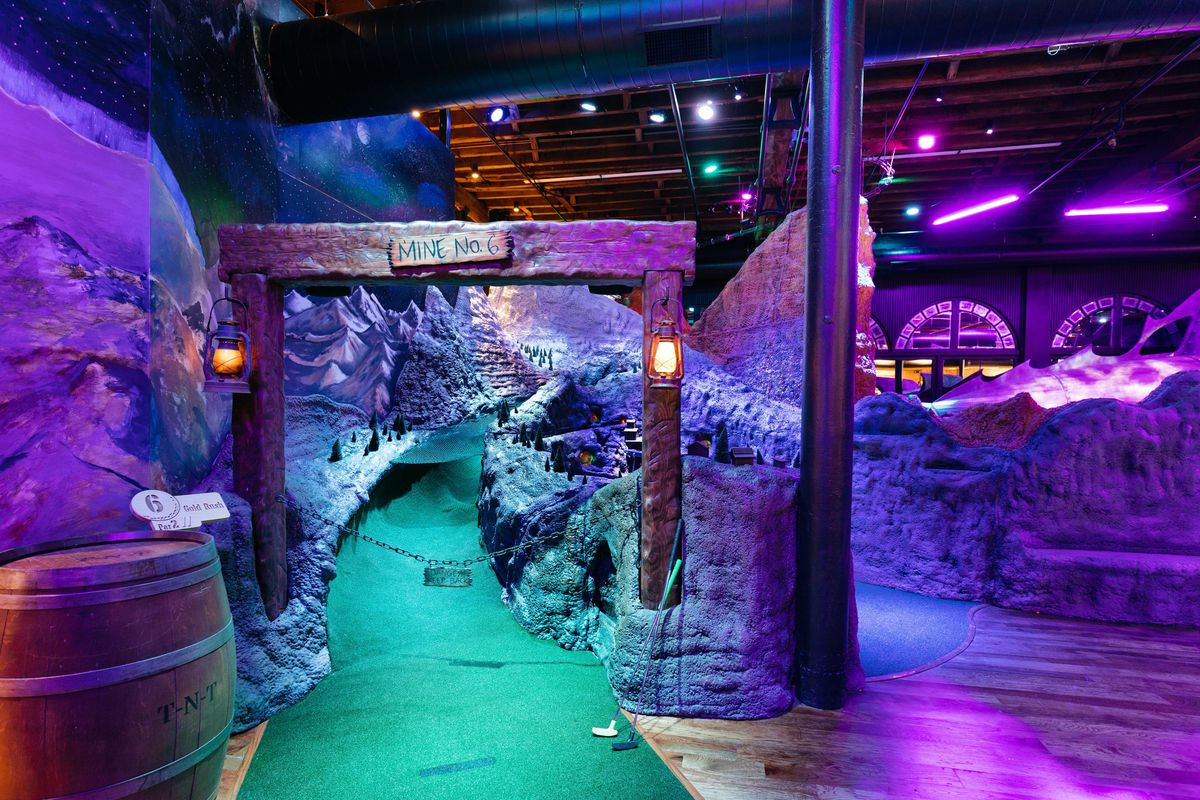 New LoDo Mini Golf Attraction Pairs Scratch Kitchen and