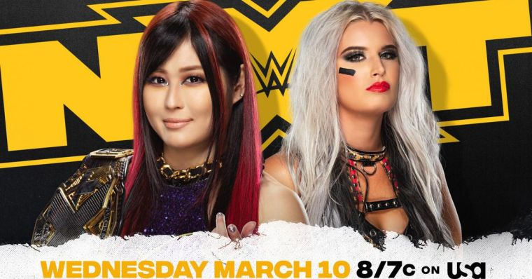 NXT books one title match, casts doubt on another