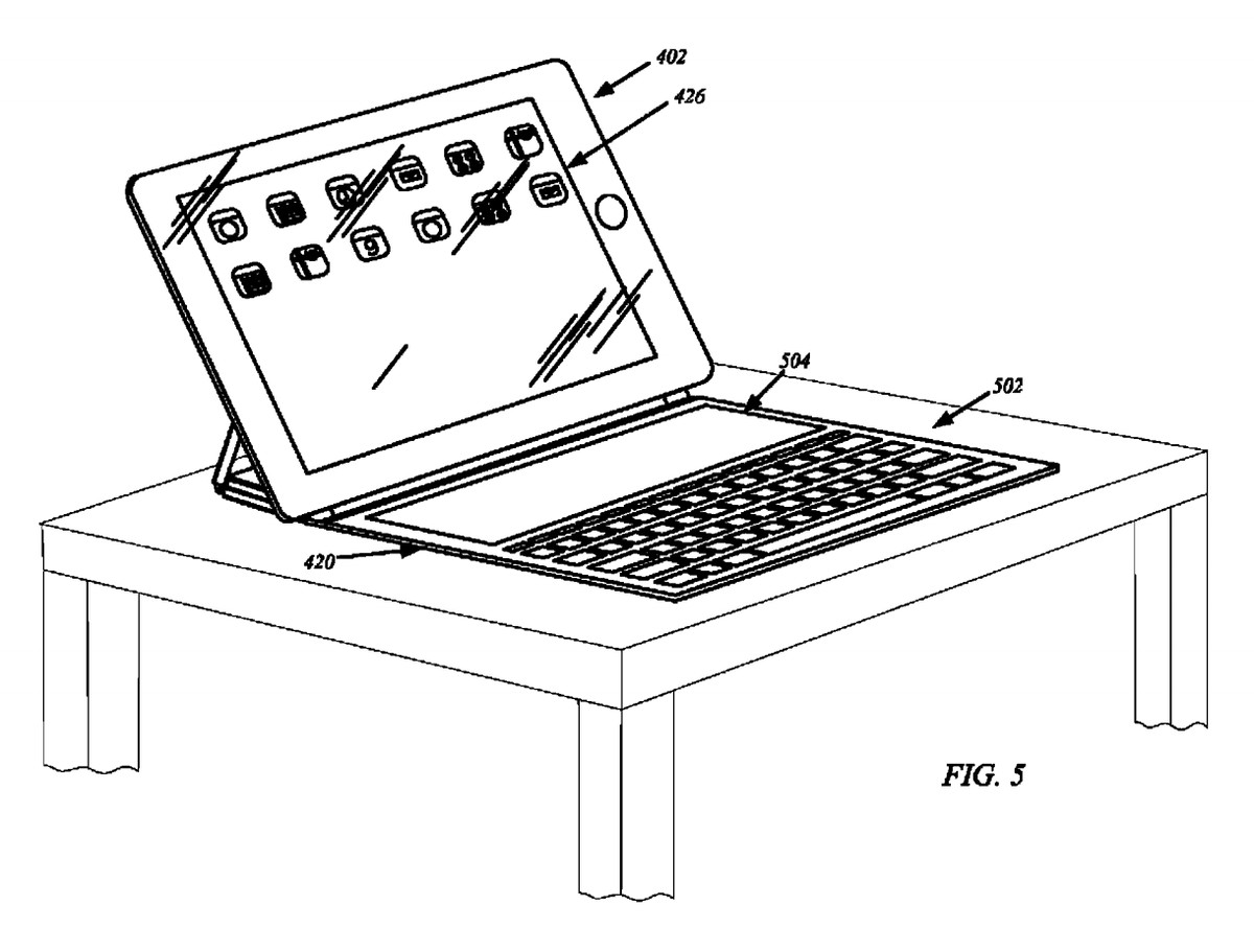 Apple just got a patent for an iPad cover with its own