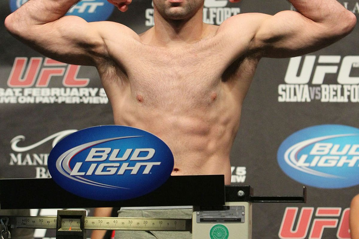 hight resolution of photo of kenny robertson who replaces the injured jon fitch at ufc on fuel tv