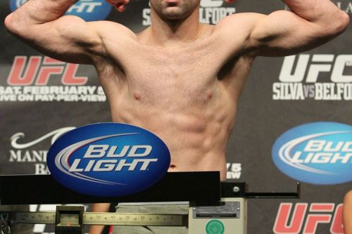 small resolution of photo of kenny robertson who replaces the injured jon fitch at ufc on fuel tv