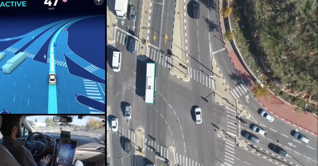 Watch Mobileye's self-driving car drive through Jerusalem using only cameras