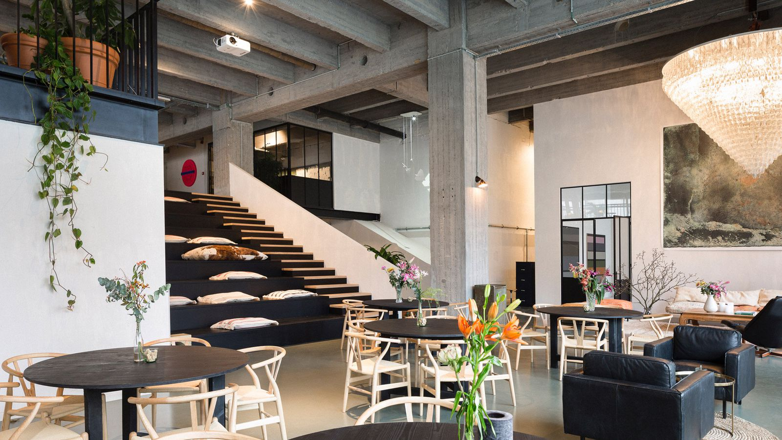 NYCs High Line Inspired This Sleek Coworking Space In