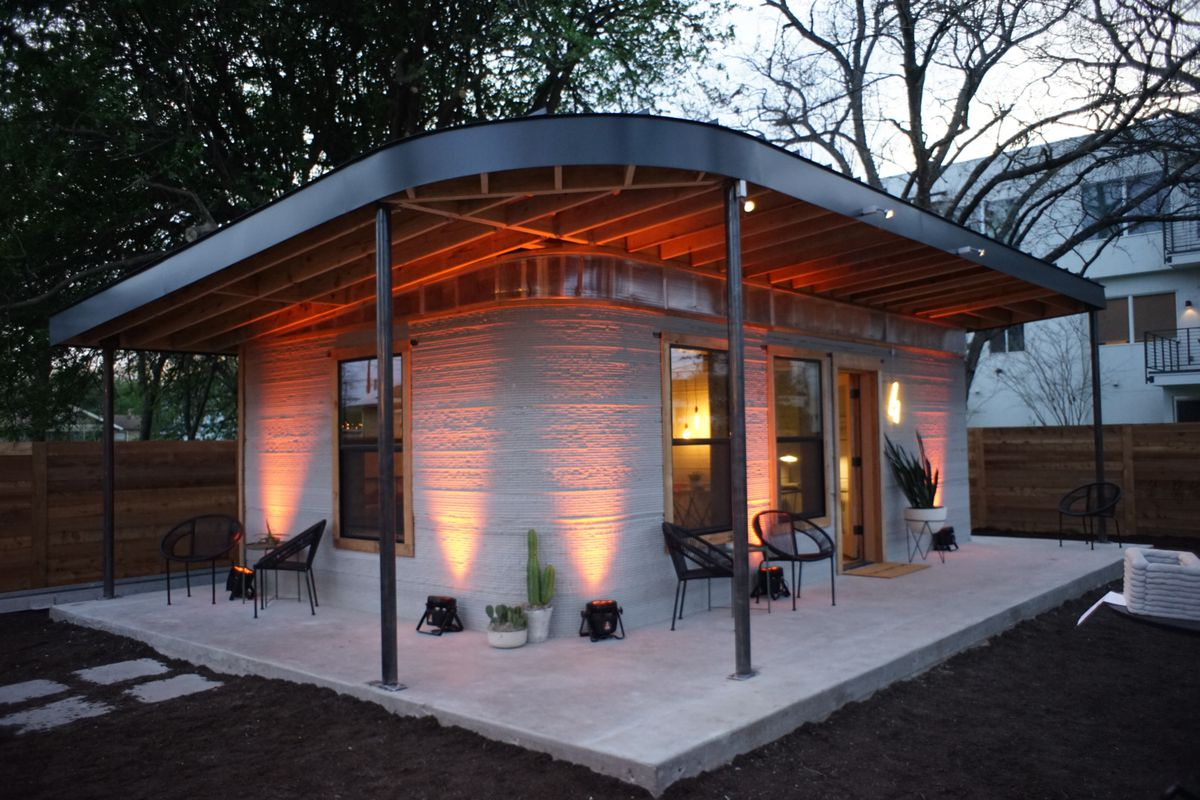 hight resolution of this cheap 3d printed home is a start for the 1 billion who lack shelter