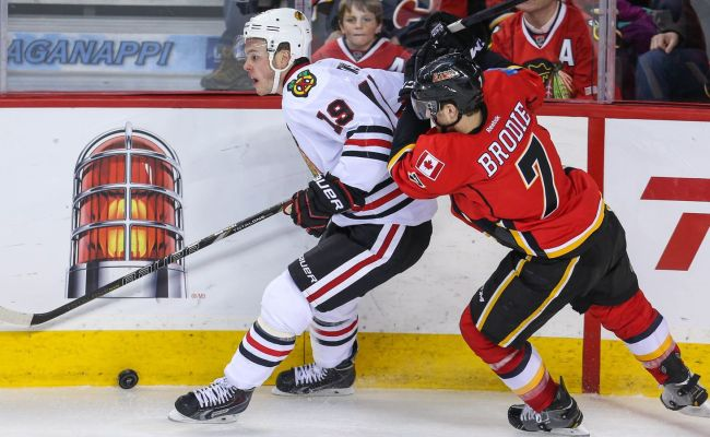 Blackhawks Vs Flames Game Preview Circus Trip Begins In
