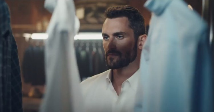 Kevin Love's new Banana Republic ad is bizarre and we have ...