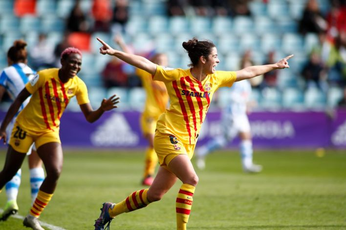 Image result for barcelona women vs real soceidad women