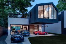 Modern Home Designed Car Lover - Curbed