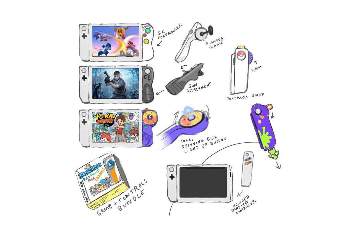 Check Out This Genius Nintendo Switch Controller Concept The Verge
