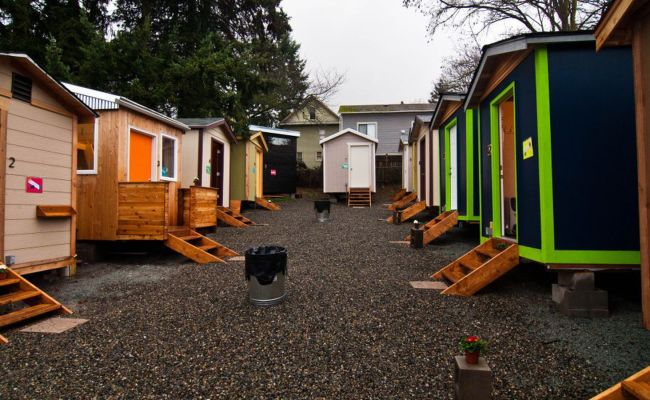 Tiny House Village Celebrates Anniversary Curbed Seattle