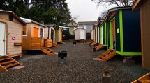 Tiny House Village Celebrates Anniversary - Curbed Seattle
