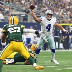 Cowboys Football Helmet Chair Fancy Covers For Weddings Packers Defense Plays Musical Chairs Again Against Acme