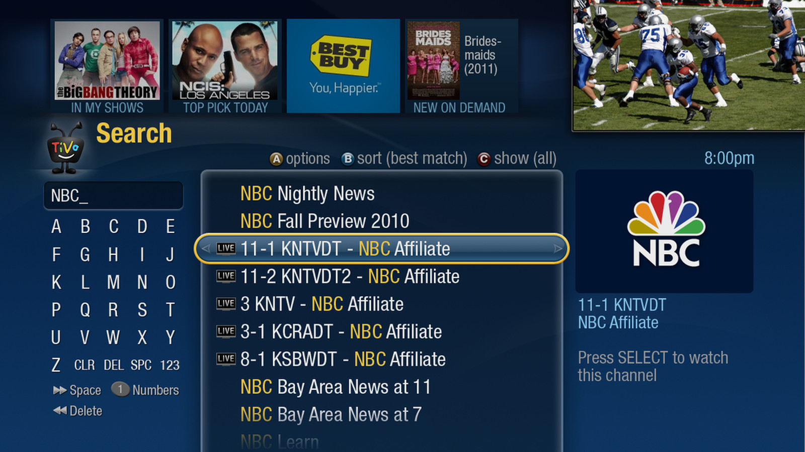 TiVo releases Android remote app to all Premiere software
