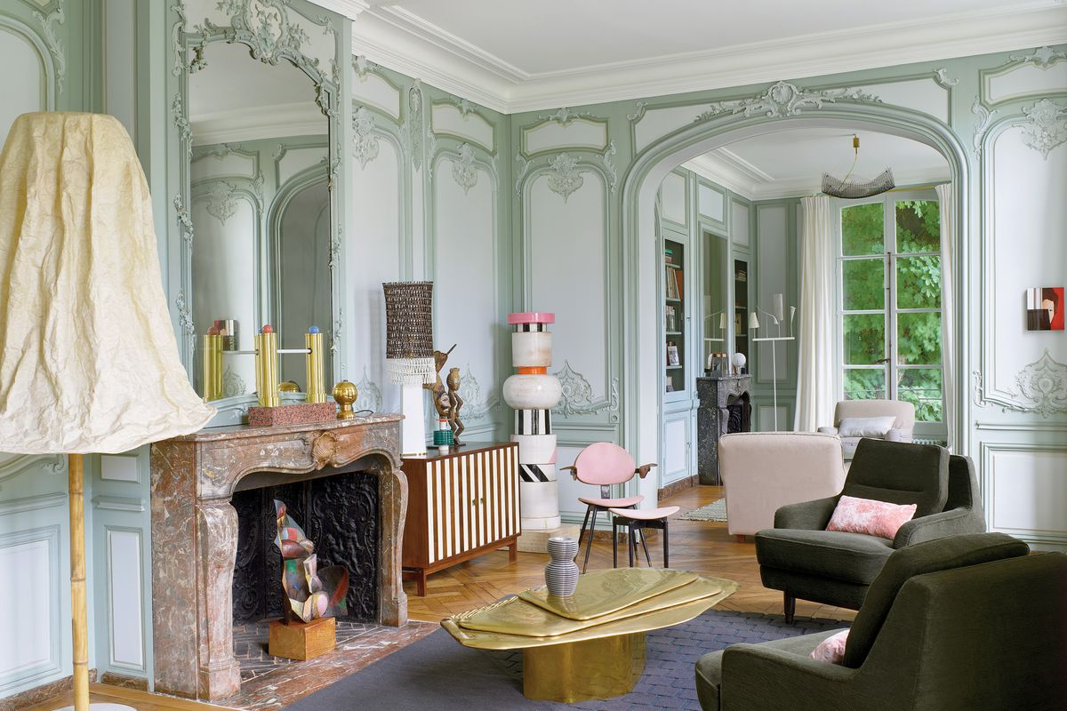 Ettore Sotsass Fills The Classic Paris Apartment Of French