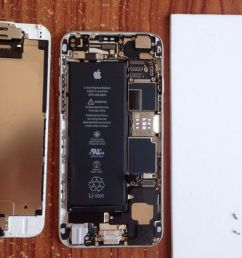 how and where to replace your old depreciated iphone battery [ 1200 x 800 Pixel ]