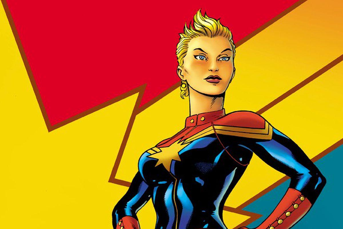 captain marvel' will be marvel studios' first female superhero movie