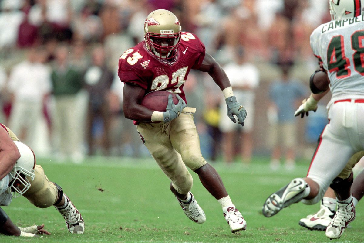The top 100 FSU football players: No. 53— running back Travis ...