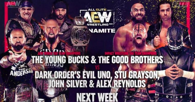 The Good Brothers booked for the next two Dynamites