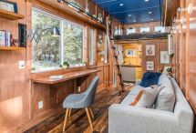 Tiny House Serves Writing Studio And Library
