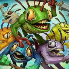 Fishing Chair Wow Tcg Height After Hip Replacement Hearthstones New Hero A Murloc Shaman Is Unlocked By