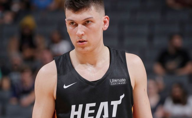 Tyler Herro Snubbed From All Summer League Teams A Sea Of Blue
